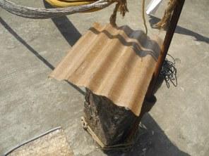 Jute composite roofing materials