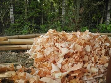 Reusable wooden chips