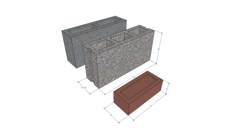 plastic brick regular brick comparison2